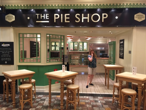 Independence of the Seas 9 September 2016 The Pie Shop