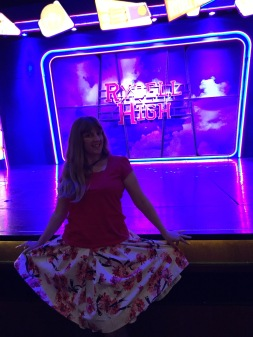 Independence of the Seas 9 September 2016 Joanne at theatre