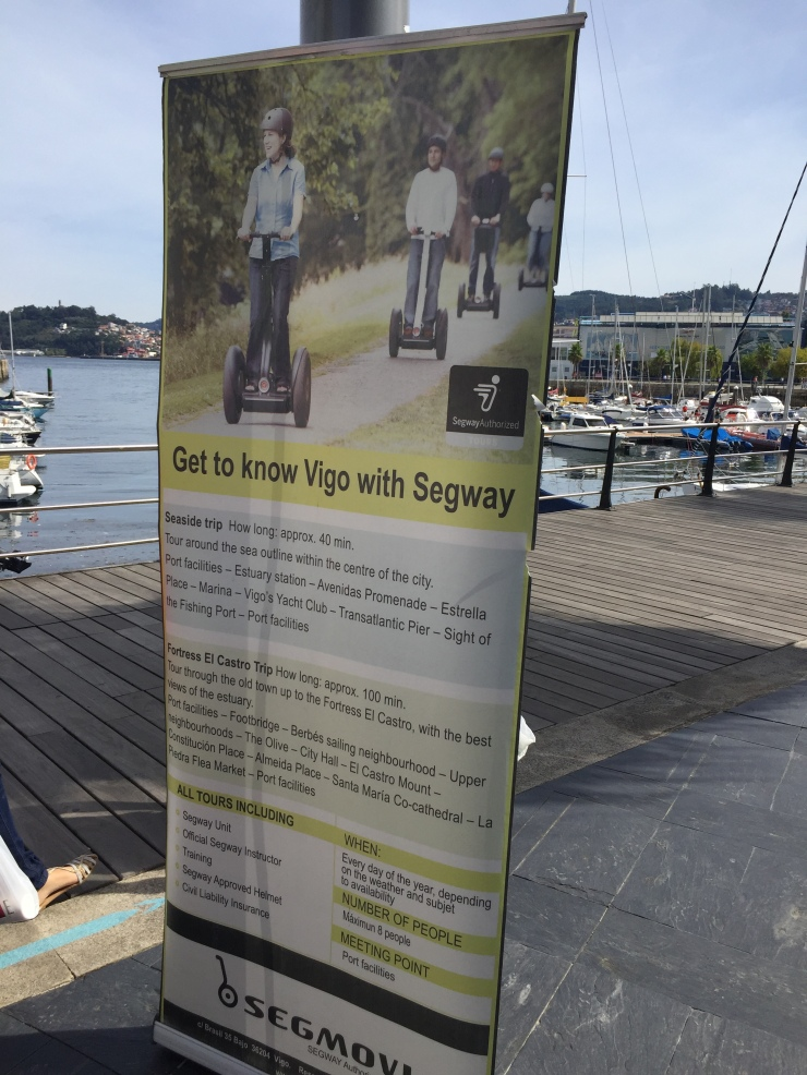 Vigo - September 2016 - Segway tour banner