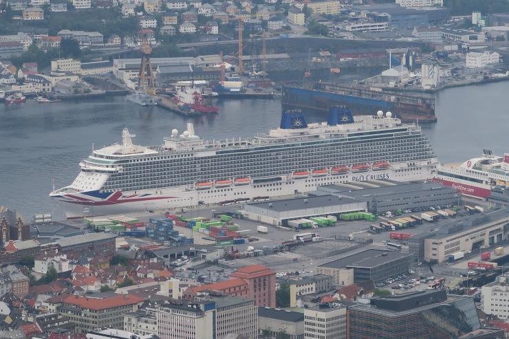 Bergen - May 2016 - P&O Britannia