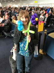 Azura of the Seas Joanne Balloon fun