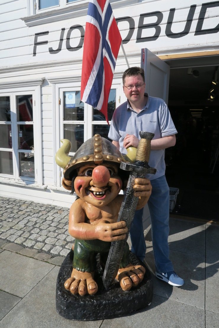 Stavanger - May 2016 - Jason and troll
