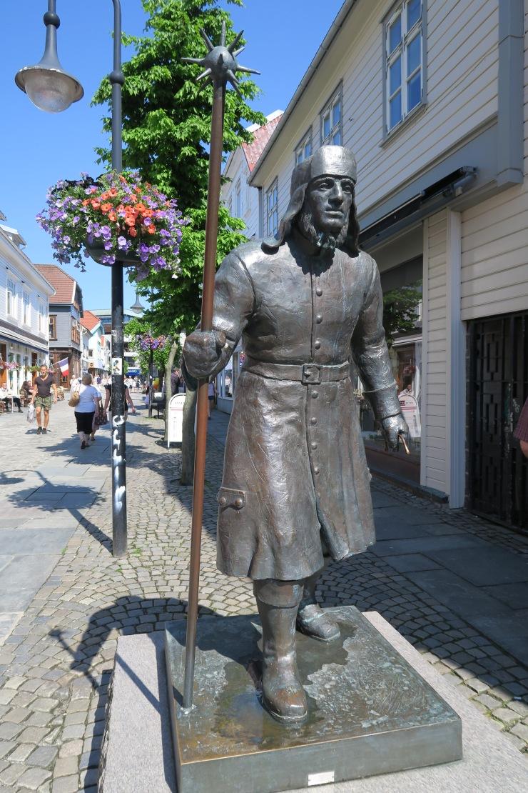 Stavanger - May 2016 - statue