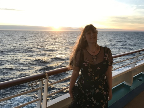 Independence of the Seas 29 June 2017 formal night Joanne