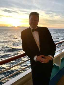 Independence of the Seas 29 June 2017 formal night Jason