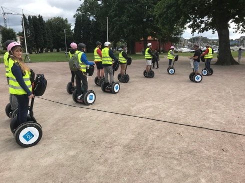 Independence of the Seas 29 June 2017 Kristiansand Segway