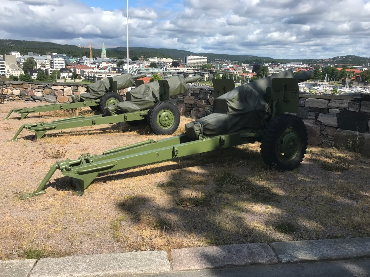 Kristiansand - June 2017 - cannons