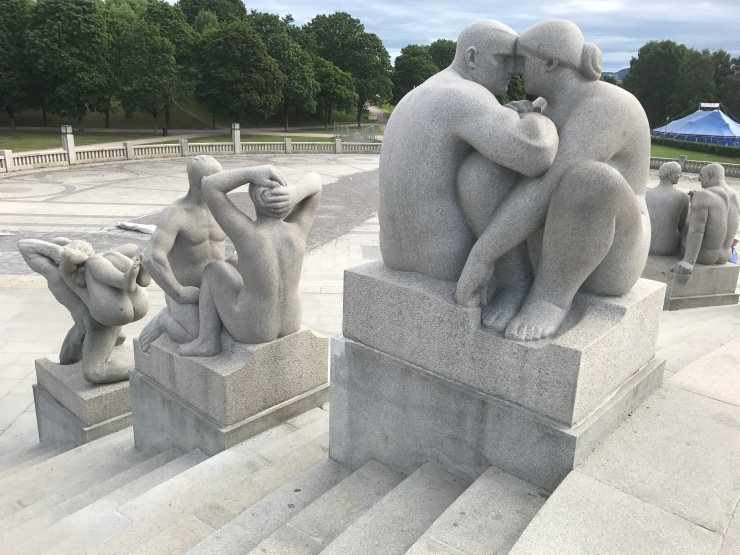 Oslo - June 2017 - The Vigeland Park statues