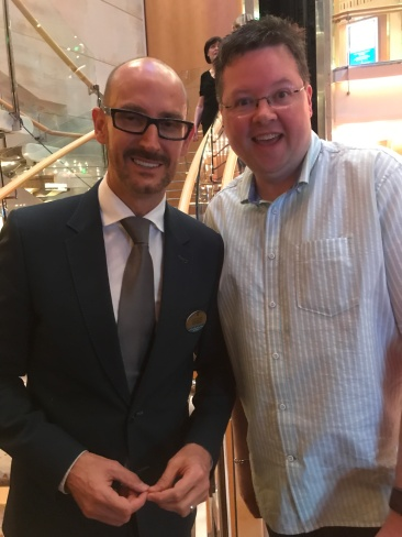 Independence of the Seas 29 June 2017 Joff Eaton Cruise Director and Jason
