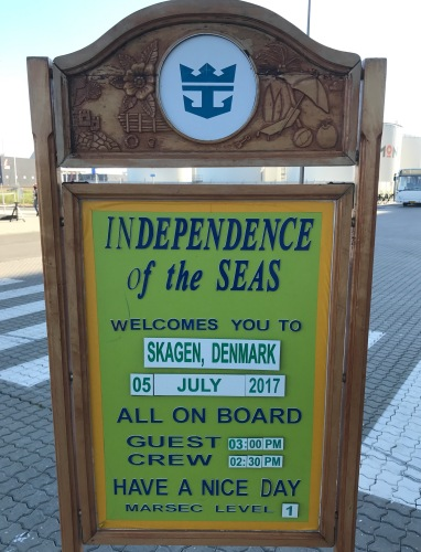 Independence of the Seas 29 June 2017 Skagen