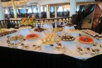 Independence of the Seas 9 September 2016 Brunch