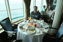 Independence of the Seas 9 September 2016 Jason at Brunch