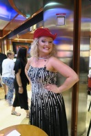 Independence of the Seas 9 September 2016 Joanna performer