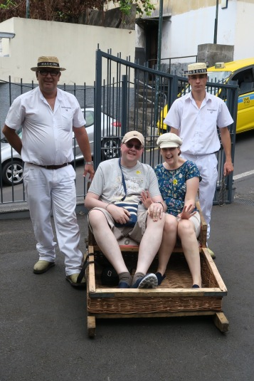Independence of the Seas 9 September 2016 Funchal Portugal Toboggan Jason and Joanne