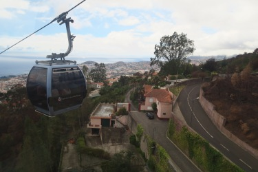 Independence of the Seas 9 September 2016 Funchal Portugal Cable Car