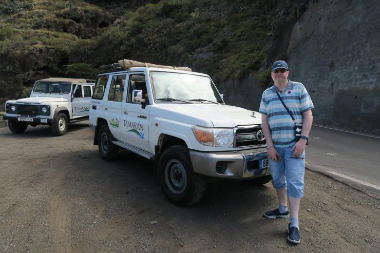 Tennerife - September 2016 - Jason the a jeep safari