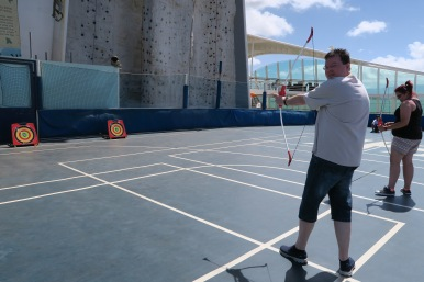 Independence of the Seas 9 September 2016 Jason archery
