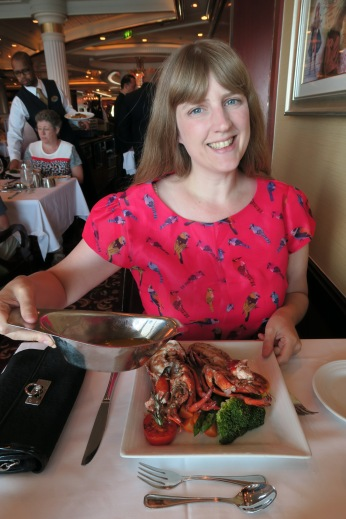 Independence of the Seas 9 September 2016 food