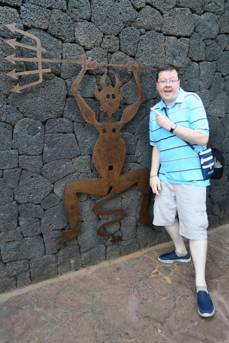 Lanzarote - September 2016 - Jason and devil