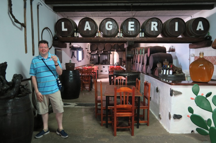 Lanzarote - September 2016 - Jason and drink