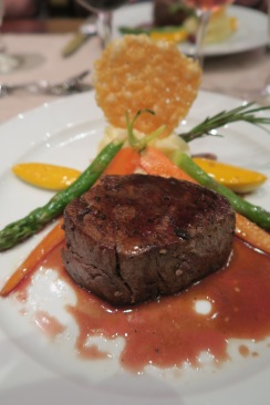Independence of the Seas 9 September 2016 Murder Mystery food
