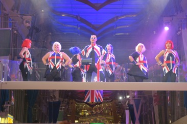 Independence of the Seas 9 September 2016 Britannia Party