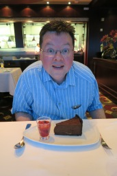 Independence of the Seas 9 September 2016 Jason and food