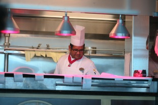 Independence of the Seas 29 June 2017 chef