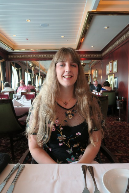 Independence of the Seas 29 June 2017 Joanne restaurant