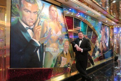 Independence of the Seas 29 June 2017 Jason and Royal Casino on formal night