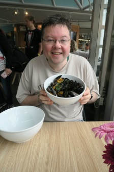 Independence of the Seas 29 June 2017 Stavenger Jason and mussels