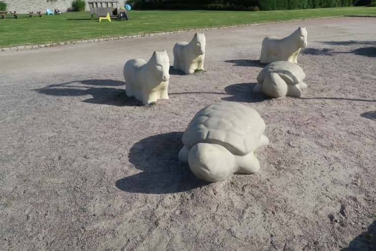 Kristiansand - June 2017 - statues of animals