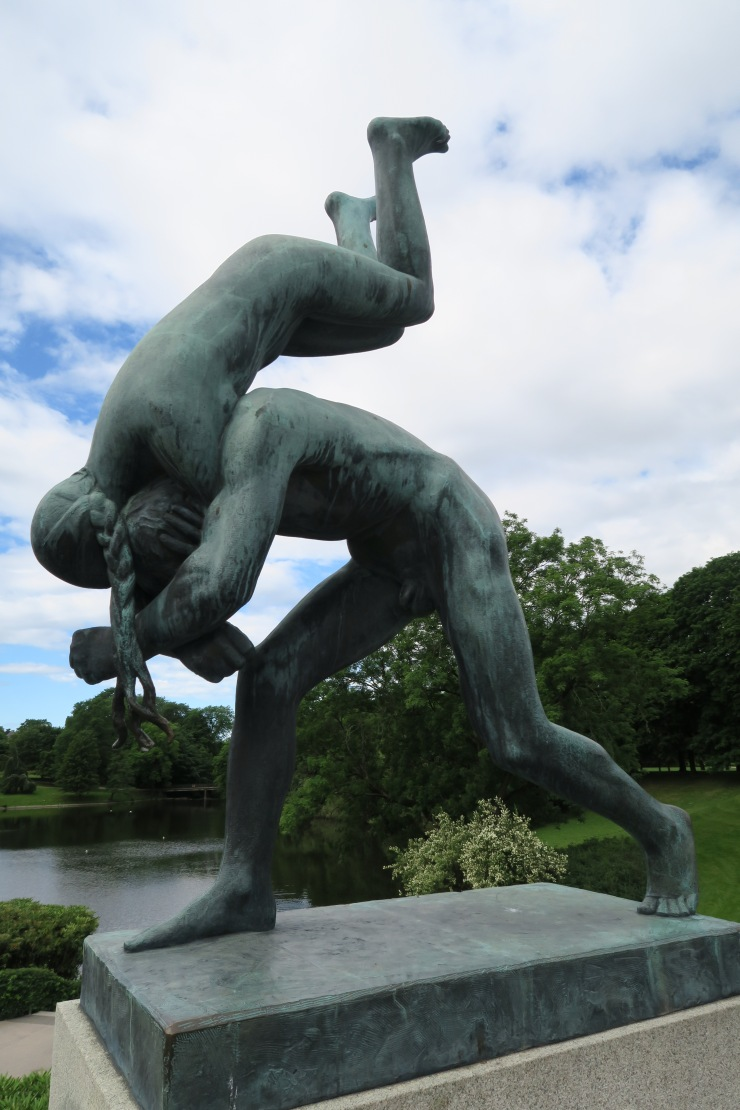 Oslo - June 2017 - The Vigeland Park statue