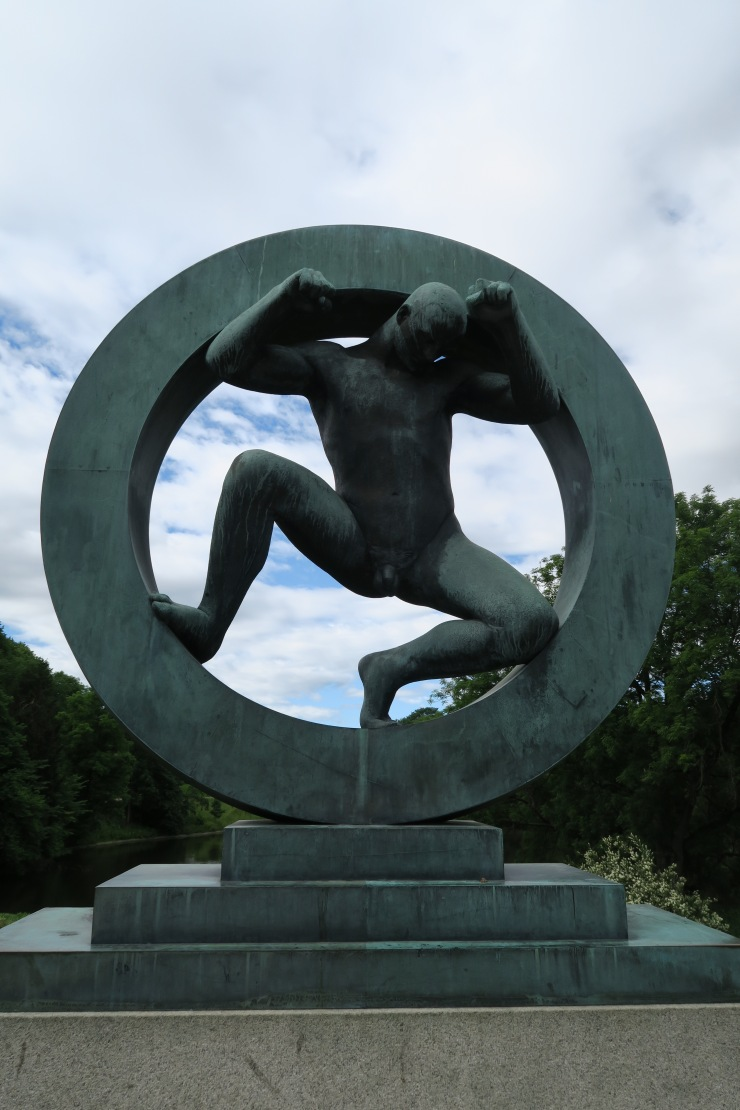 Oslo - June 2017 - The Vigeland Park man