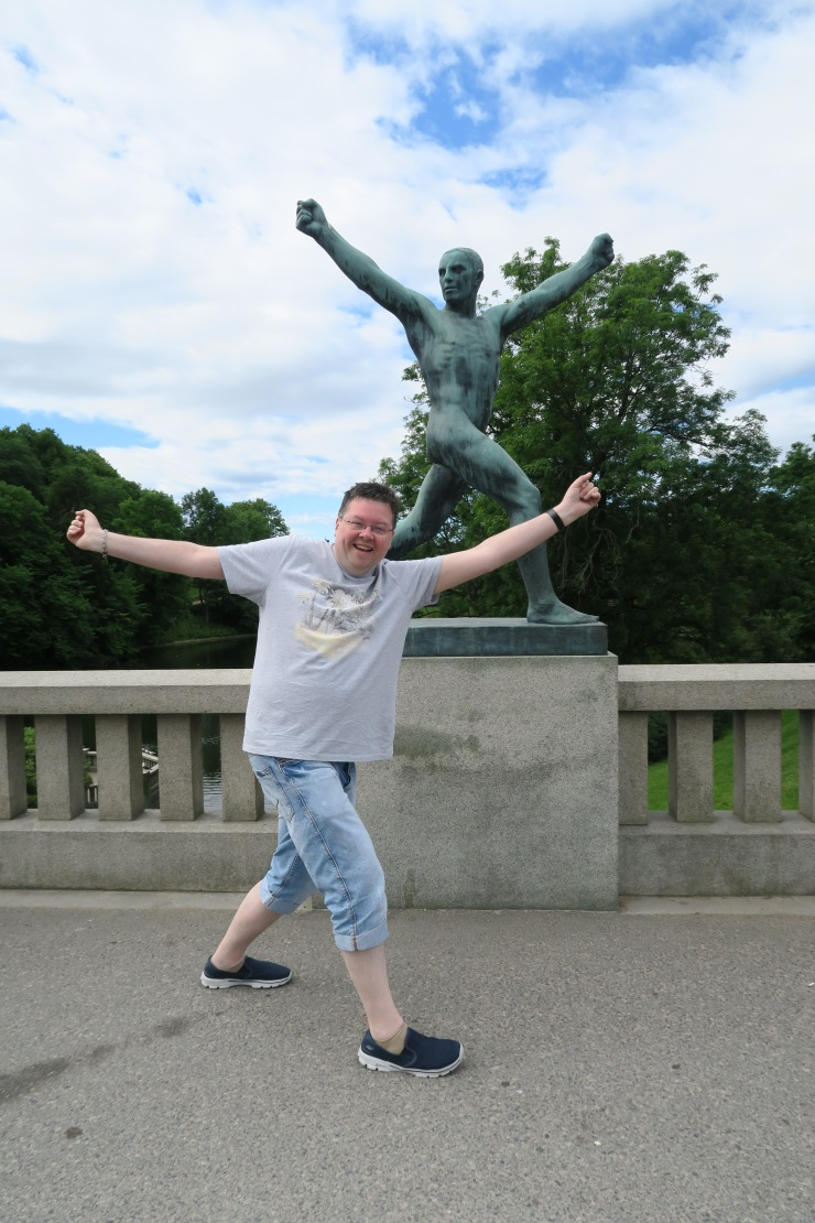 Oslo - June 2017 - The Vigeland Park Jason
