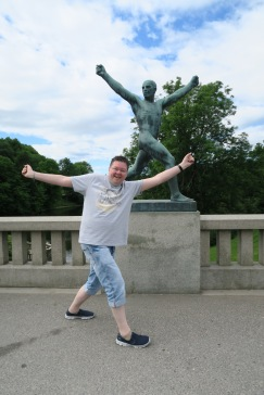 Independence of the Seas 29 June 2017 Oslo The Vigeland Park Jason