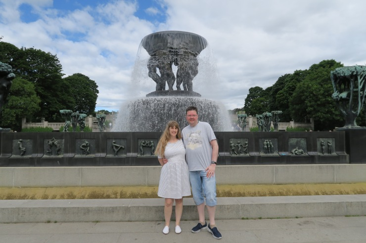 Oslo - June 2017 - The Vigeland Park Joanne and Jason