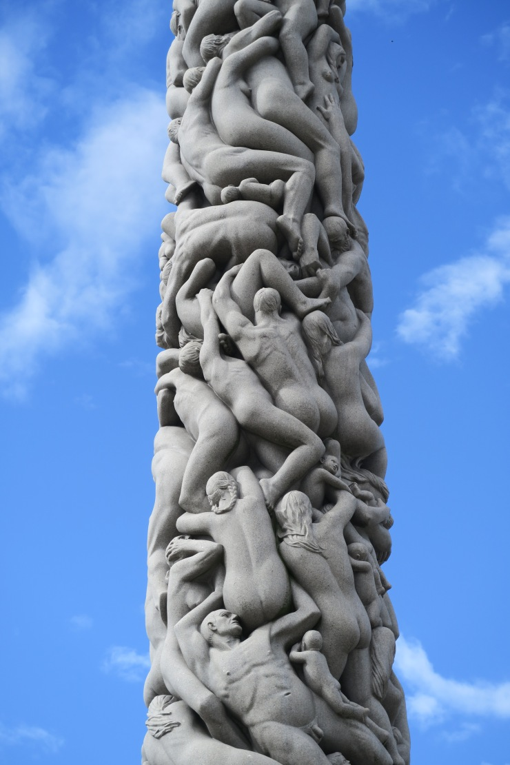 Oslo - June 2017 - The Vigeland Park column of life