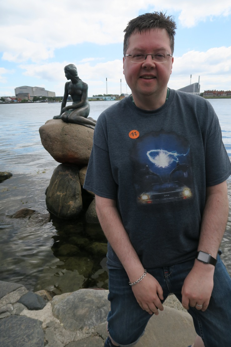 Copenhagen - June 2017 - Jason and Little Mermaid