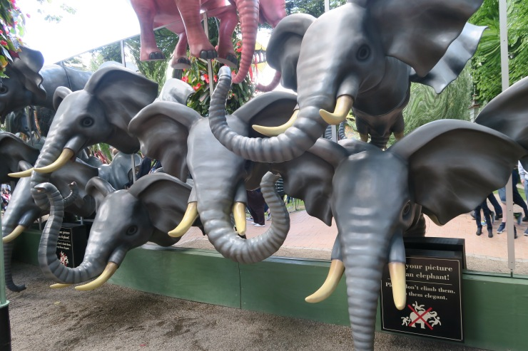 Copenhagen - June 2017 - Tivoli Gardens elephants