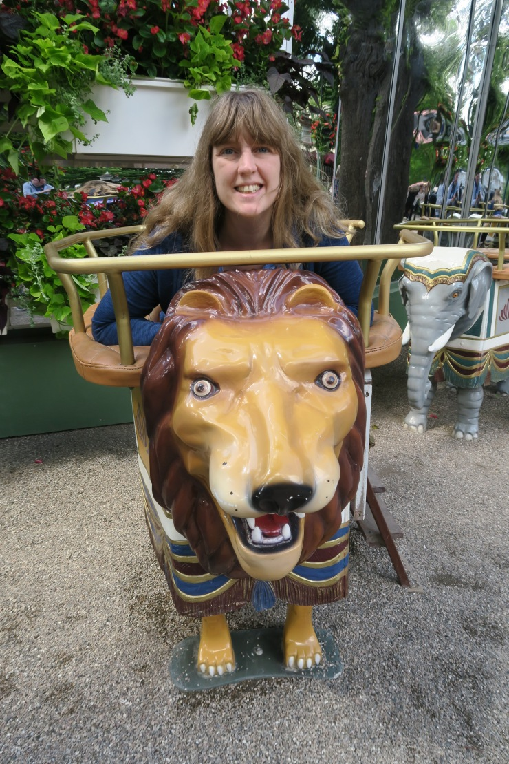 Copenhagen - June 2017 - Tivoli Gardens Joanne and Lion