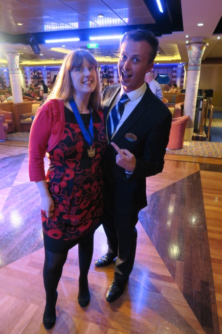 Independence of the Seas 29 June 2017 Joanne and Tom