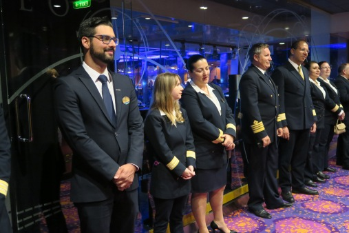 Independence of the Seas 29 June 2017 crew