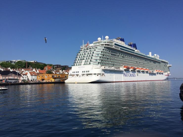Stavanger - May 2016 - P&O Britannia