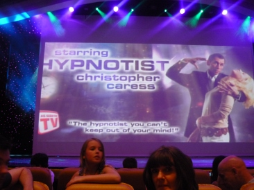 Independence of the Seas 30 June 2012 Hypnotist Christopher Caress