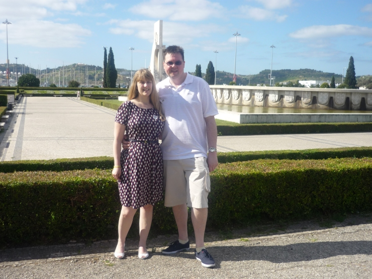 Lisbon - July 2012 - Joanne and Jason
