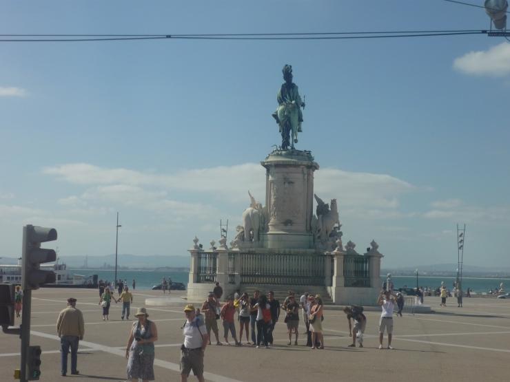 Lisbon - July 2012 - statue