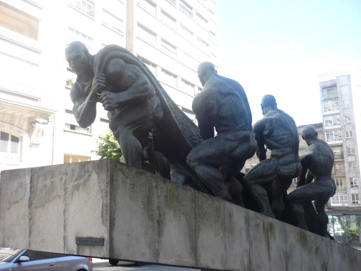 Vigo - July 2012 - statue