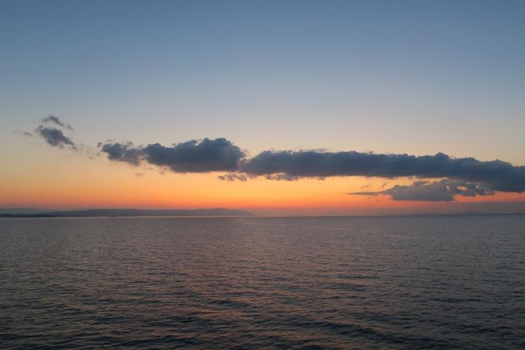 P&O Oceana - Hvar Oct 2017 - sunrise