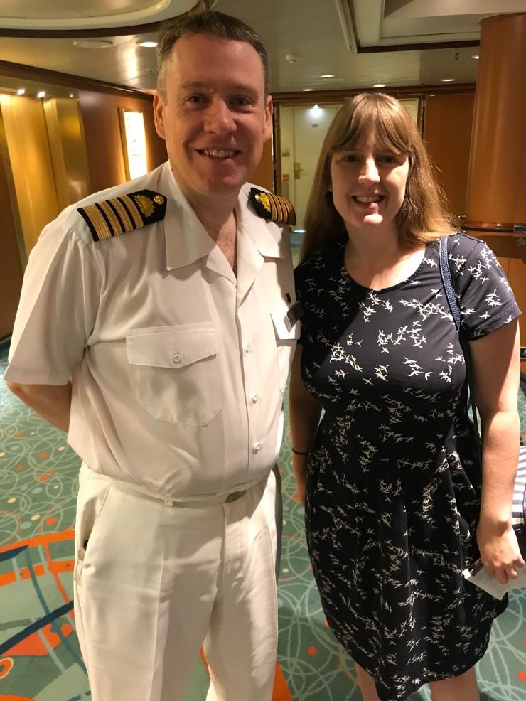 P&O Oceana - Hvar Oct 2017 - Captain